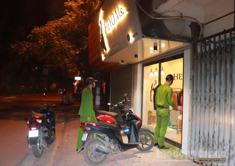 Phường Láng Thượng thực hiện nghiêm chỉ đạo của Thành phố Hà Nội