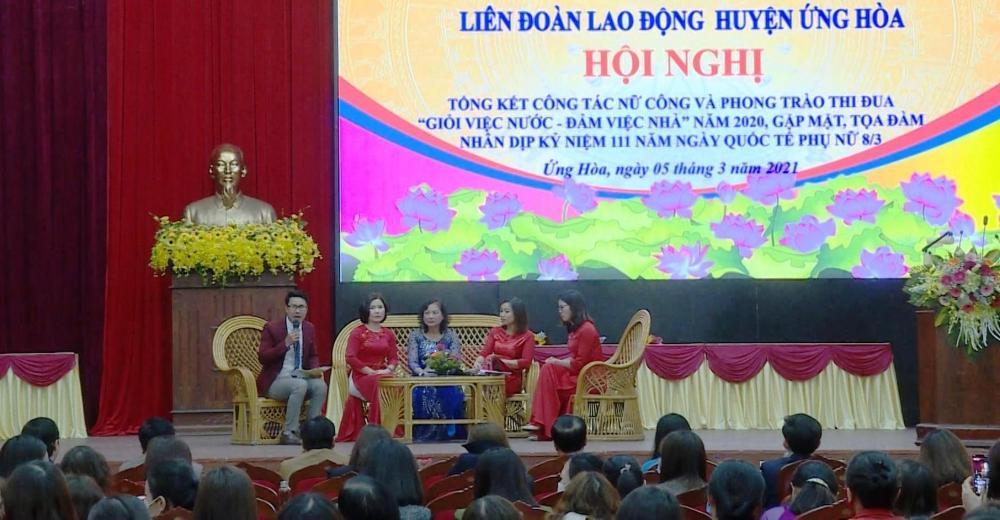 Liên đoàn Lao động huyện Ứng Hòa: Nhiều hoạt động kỷ niệm ngày Quốc tế Phụ nữ