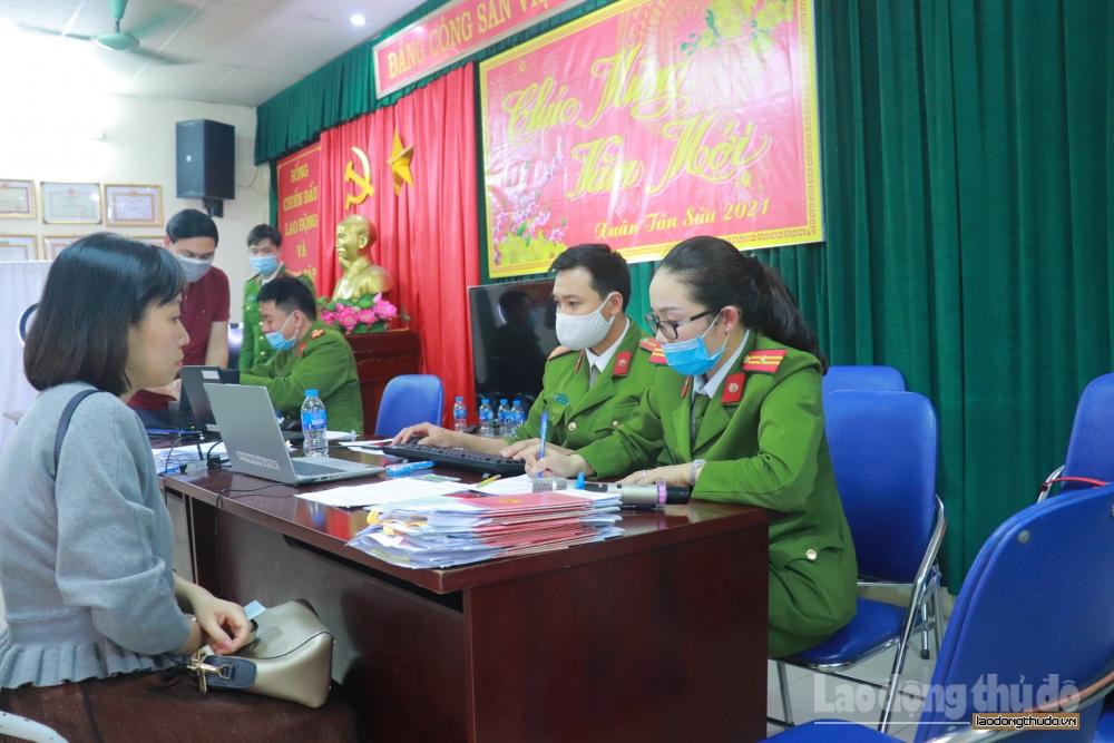 Hà Nội vượt mốc 1 triệu hồ sơ cấp căn cước công dân gắn chíp