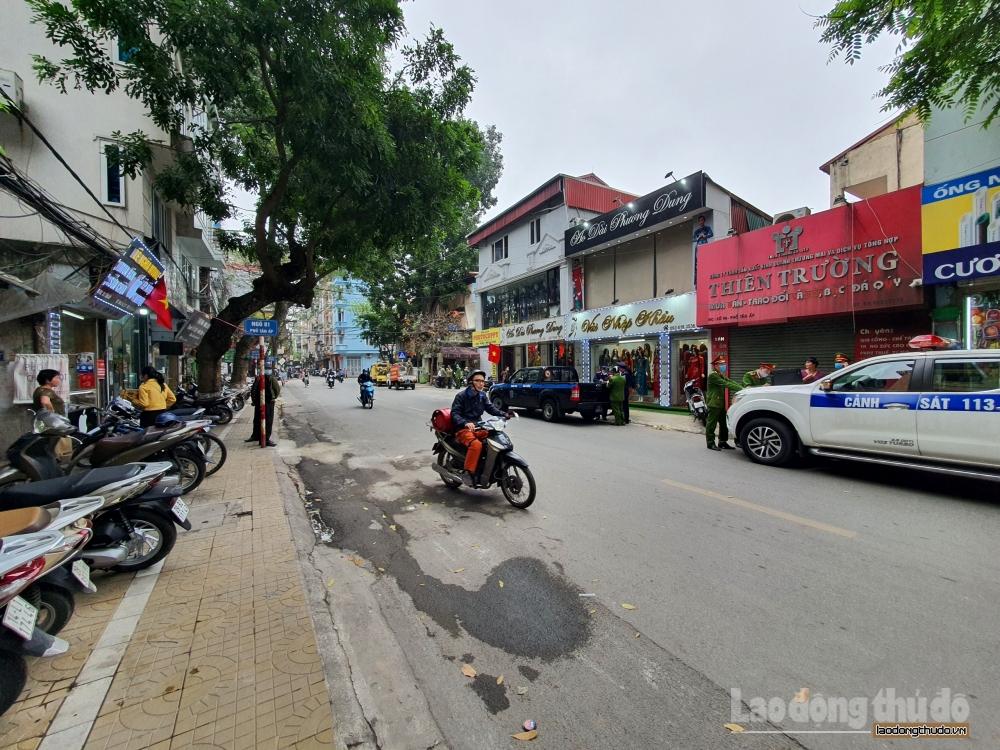 Quận Ba Đình: Ra quân xử lý vi phạm về trật tự đô thị