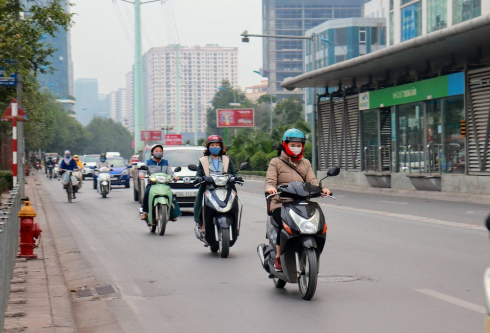 Ảnh hưởng của gió mùa Đông Bắc, cuối tuần Hà Nội trở rét.