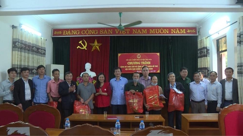 Huyện Ứng Hòa: Không còn hội viên Cựu chiến binh khó khăn về nhà ở