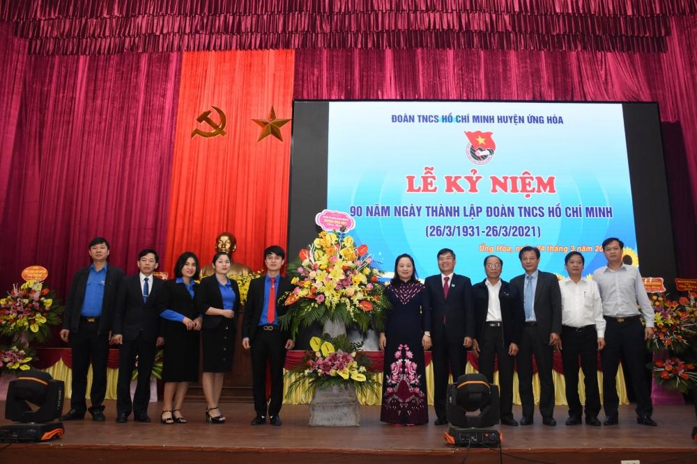 Huyện đoàn Ứng Hòa kỷ niệm 90 năm Ngày thành lập Đoàn