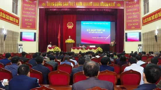 Hội đồng nhân dân huyện Ứng Hòa tổng kết hoạt động nhiệm kỳ 2016 – 2021