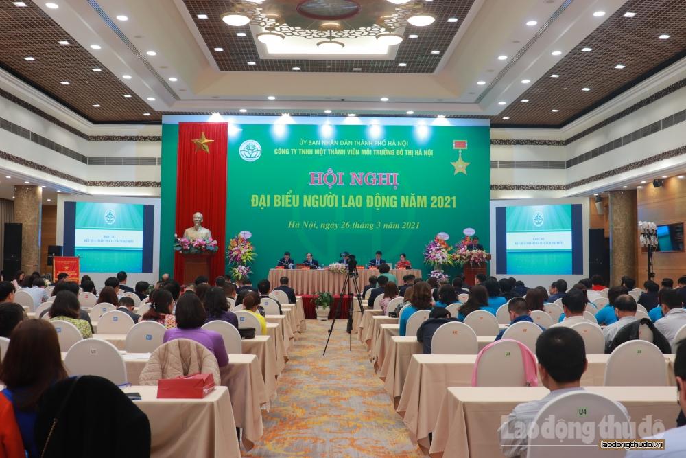 Hội nghị đại biểu người lao động URENCO năm 2021