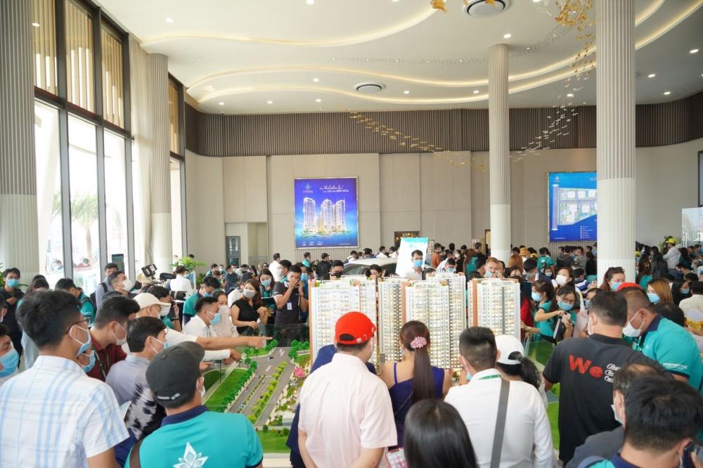 Thị trường bất động sản tại đô thị tiếp giáp thành phố Hồ Chí Minh hút nhà đầu tư