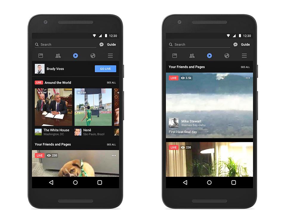 Facebook bổ sung nhiều tính năng hữu ích cho Facebook Live