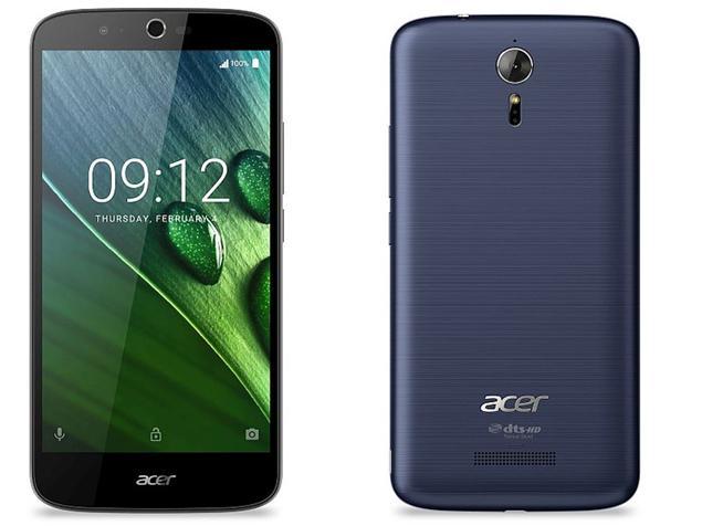 Acer trình làng điện thoại pin khủng 5000 mAh