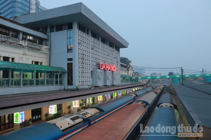 Hành khách được đảm bảo an toàn phòng dịch tại ga Hà Nội