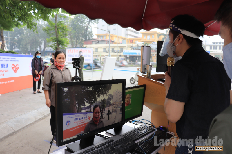Phát gạo cho người nghèo bằng công nghệ nhận diện khuôn mặt