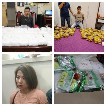 Triệt phá ổ nhóm mua bán gần 60 kg ma túy tổng hợp