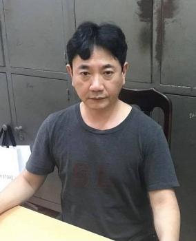 Bắt giữ đối tượng truy nã người Hàn Quốc trốn tại quận Cầu Giấy
