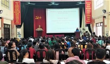 Ứng Hòa: Tập huấn nghiệp vụ công tác công đoàn năm 2021