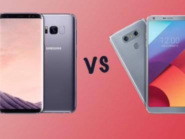 Nên mua Galaxy S8 hay LG G6?