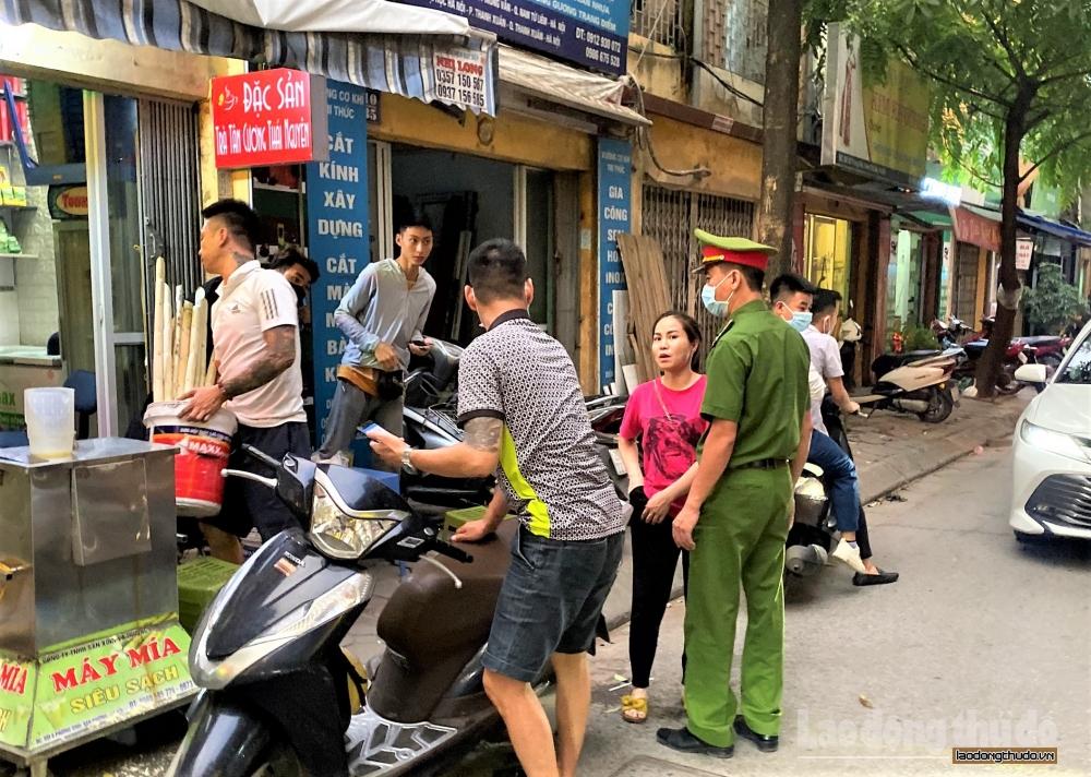 Hà Nội: Nhiều địa phương đồng loạt ra quân thực hiện Công điện 06 của Thành phố