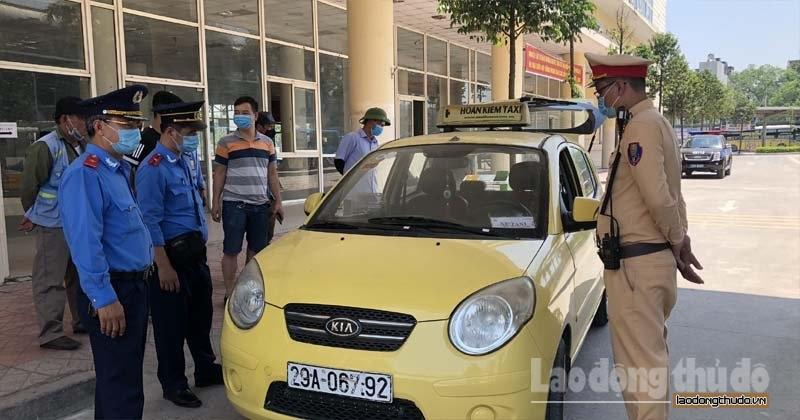 Quận Hà Đông: Xử lý mạnh tay với taxi tháo giám sát hành trình