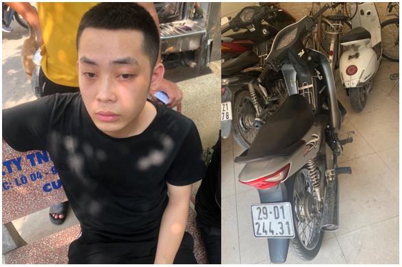 Long Biên: Bắt giữ đối tượng mặc áo grab cướp giật điện thoại