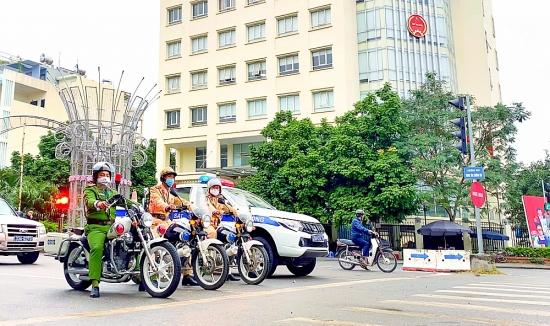 Công an huyện Ứng Hòa: Đảm bảo an ninh trật tự cho Ngày hội toàn dân