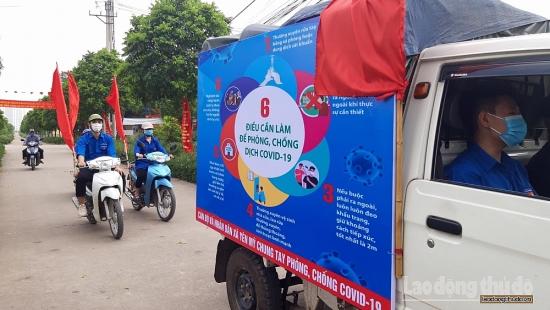 Yên Mỹ, Thanh Trì: Đẩy mạnh tuyên truyền công tác bầu cử