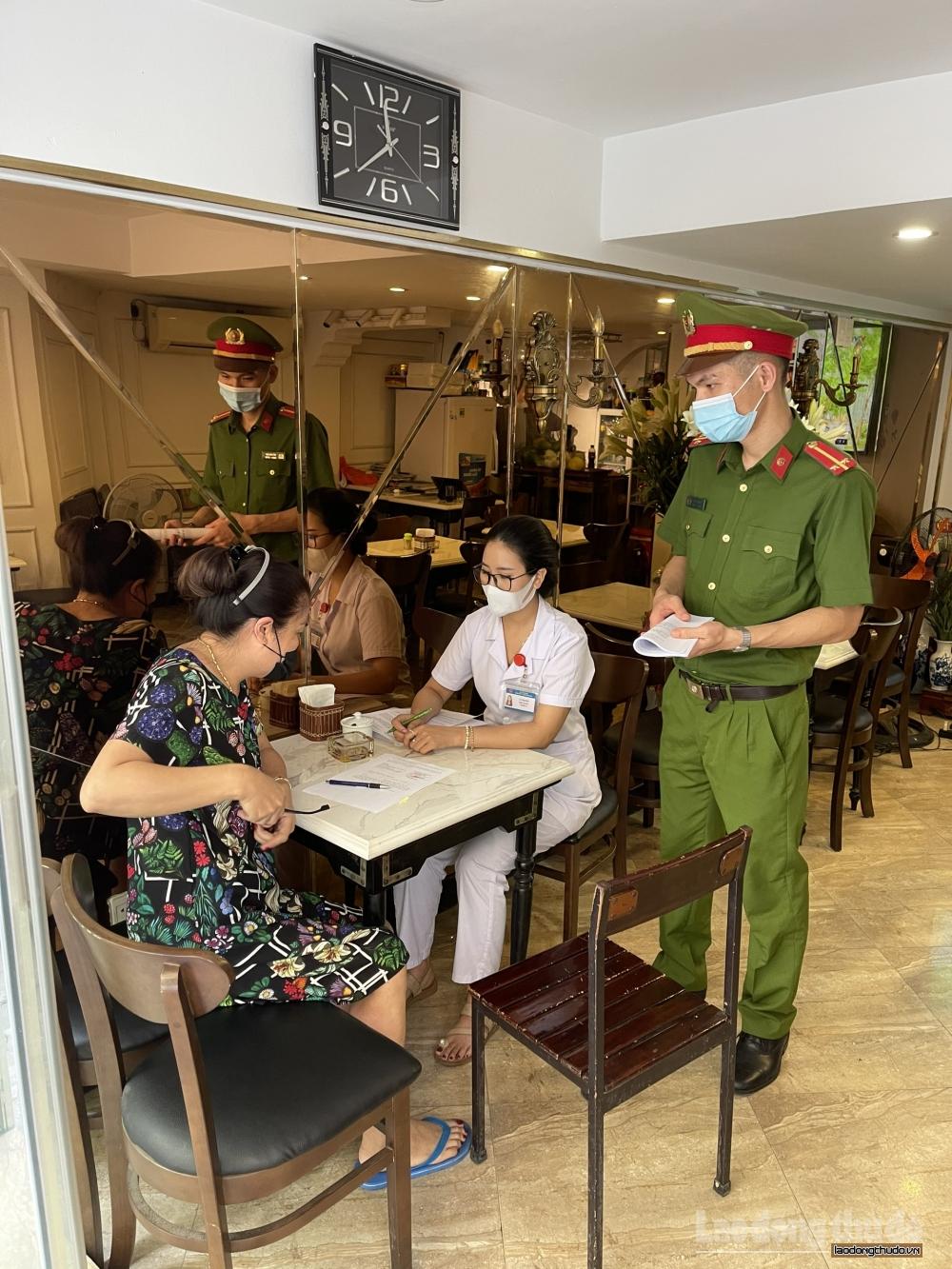 Quận Hoàn Kiếm: Tăng cường công tác phòng, chống dịch Covid-19 theo Công điện số 11/CĐ-UBND