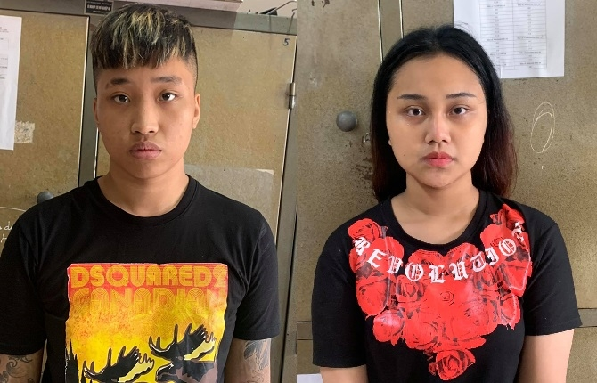 Nhanh chóng bắt giữ đôi nam, nữ dưới 18 tuổi cướp xe ôm công nghệ tại quận Long Biên