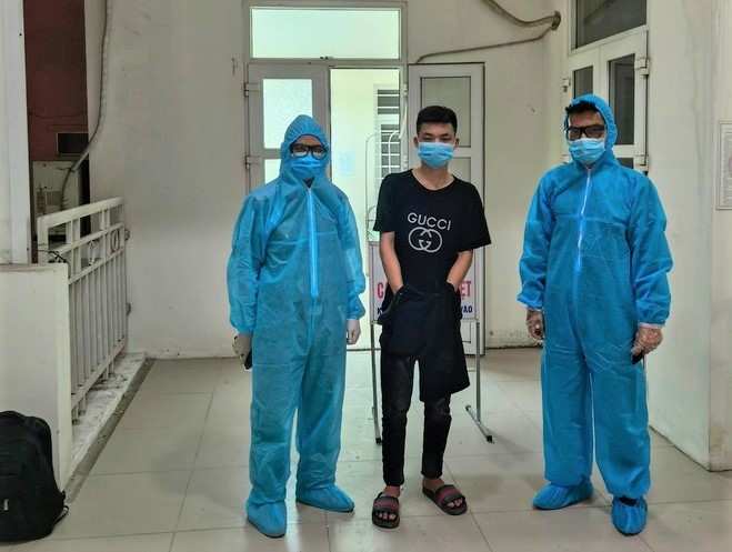 Bắt giữ đối tượng trộm cắp, bỏ trốn khỏi khu cách ly từ Lạng Sơn về Hà Nội
