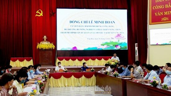 Huyện Ứng Hòa: Cần nâng cao chất lượng hoạt động của các hợp tác xã nông nghiệp