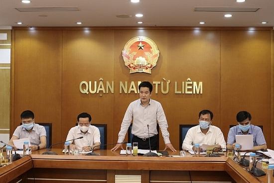"""Quận Nam Từ Liêm: Phát động quyên góp ủng hộ """"Quỹ phòng, chống Covid-19"""""""