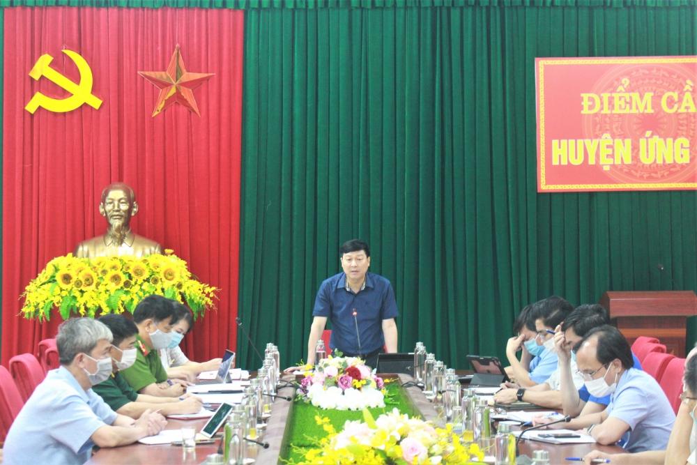 Huyện Ứng Hòa: Phát triển kinh tế đi đôi với phòng, chống dịch Covid-19