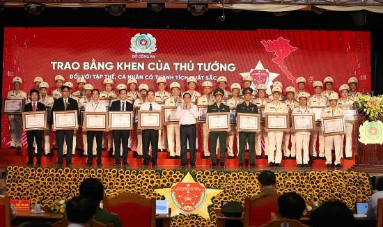 Công an thành phố Hà Nội vinh dự nhận Bằng khen của Thủ tướng Chính phủ