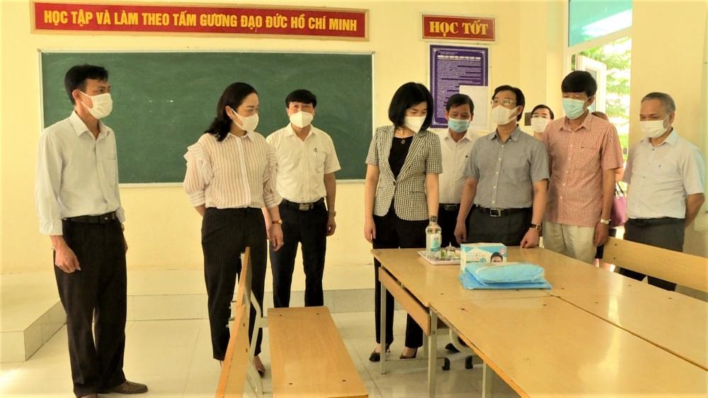 Huyện Ứng Hòa chuẩn bị sẵn sàng cho kỳ thi tốt nghiệp Trung học phổ thông