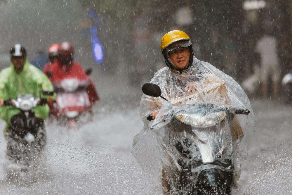 Cuối tuần Bắc Bộ và Bắc Trung Bộ có mưa to đến rất to