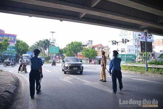 Ngày thứ 3 giãn cách, hơn 5.460 phương tiện bị buộc phải quay đầu ở các cửa ngõ Thủ đô
