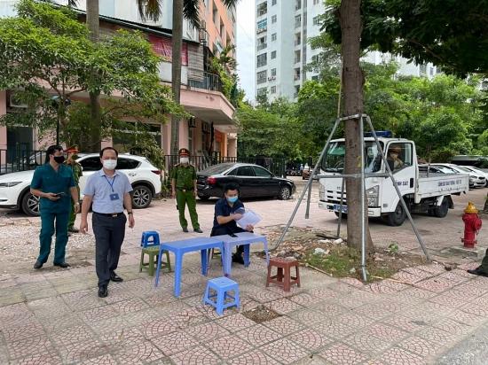 Hà Nội: Thành lập các tổ tuần tra, kiểm soát việc chấp hành giãn cách xã hội