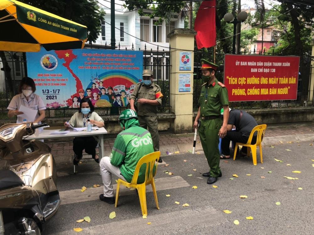 Quận Thanh Xuân: Xử phạt nhiều trường hợp vi phạm Chỉ thị 17