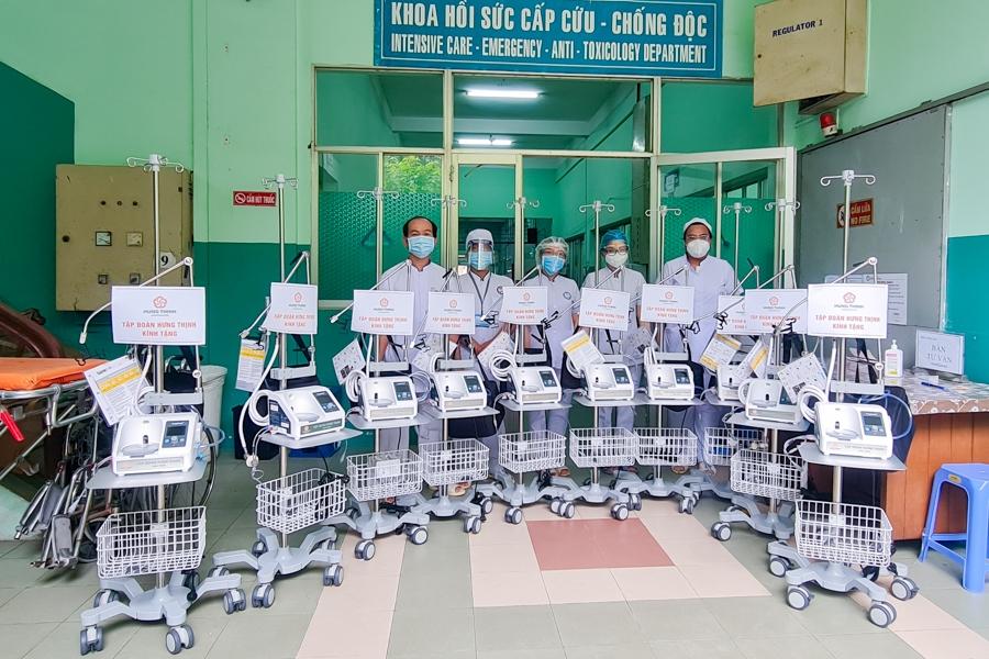 Tập đoàn Hưng Thịnh hỗ trợ hàng chục tỷ đồng cho công tác phòng, chống dịch Covid-19 tại Thành phố Hồ Chí Minh