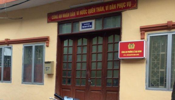 Phong tỏa tạm thời trụ sở Công an phường Lê Đại Hành do có ca nghi nhiễm Covid-19