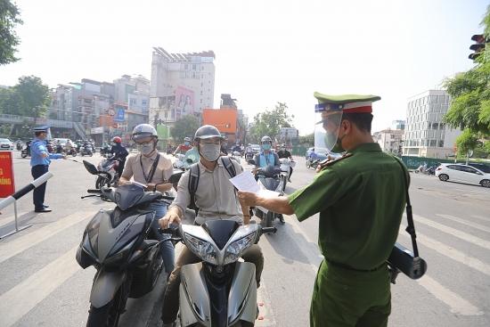 Hà Nội:  Xử phạt gần 5 tỷ đồng các vi phạm phòng, chống Covid-19 trong 5 ngày giãn cách xã hội đầu tiên