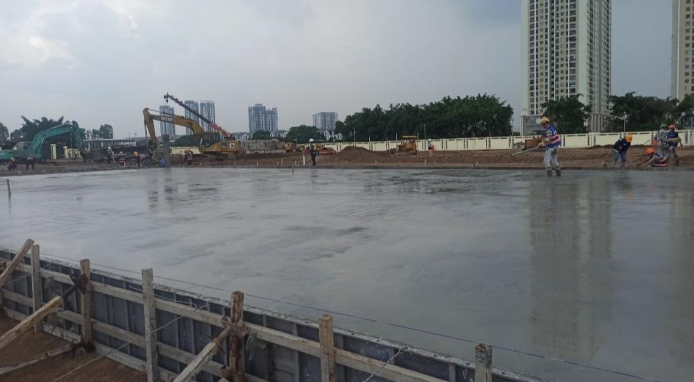 Hà Nội đẩy nhanh tiến độ xây dựng bệnh viện dã chiến quy mô trên 500 giường