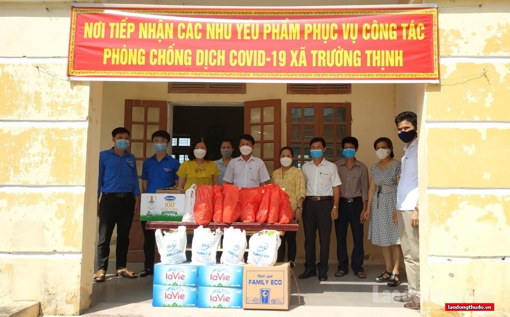 LĐLĐ huyện Ứng Hòa: Nhiều hoạt động thiết thực trong thời gian giãn cách xã hội