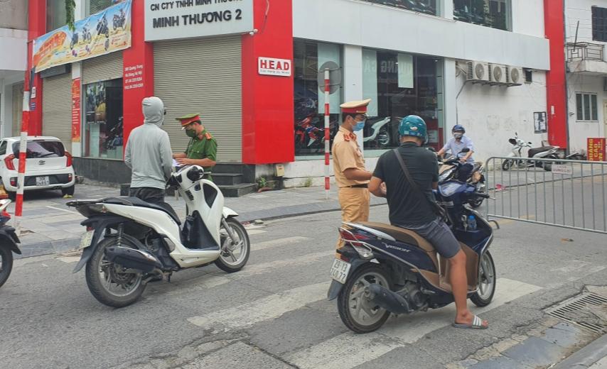 Hà Nội xử phạt hành chính 685 trường hợp vi phạm phòng, chống dịch