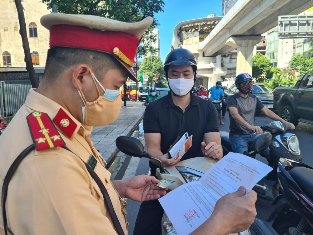 Hà Nội xử phạt 462 trường hợp vi phạm công tác phòng, chống dịch