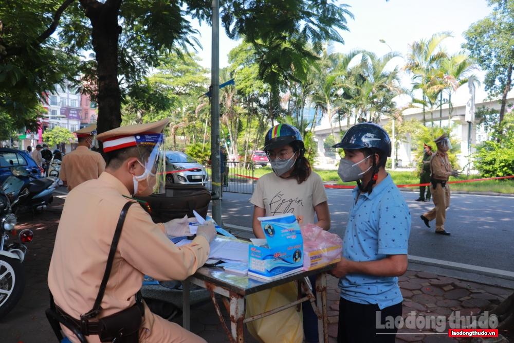 Hà Nội xử phạt 958 trường hợp vi phạm công tác phòng, chống dịch
