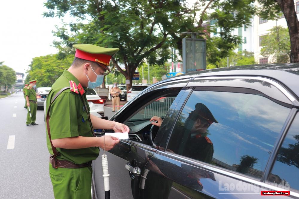 Hà Nội: Xử phạt 1.077 trường hợp vi phạm công tác phòng, chống dịch