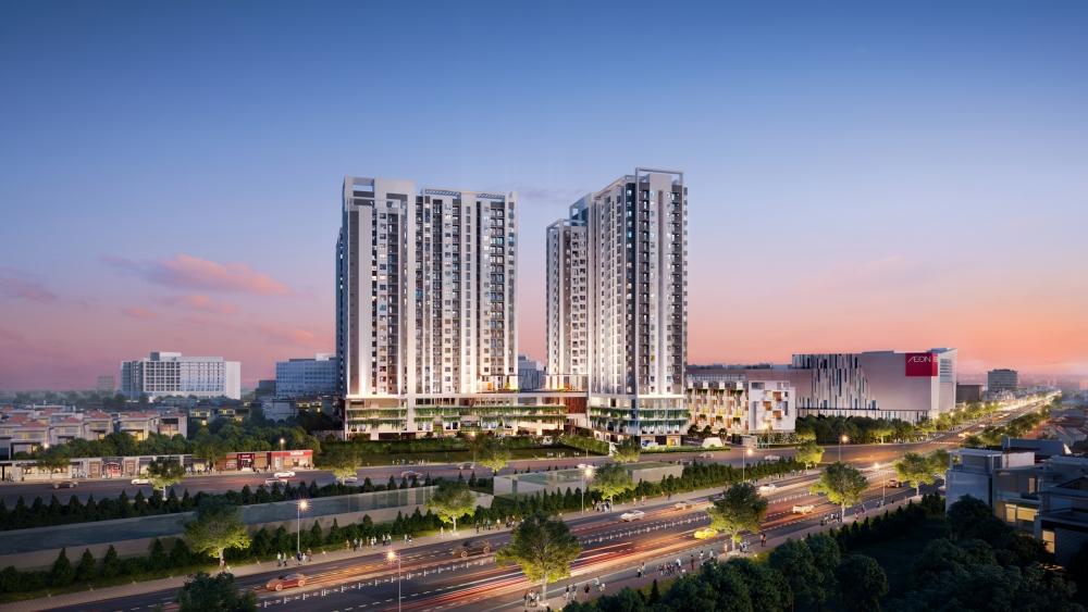 Sức hút của dự án căn hộ khu Tây Sài Gòn
