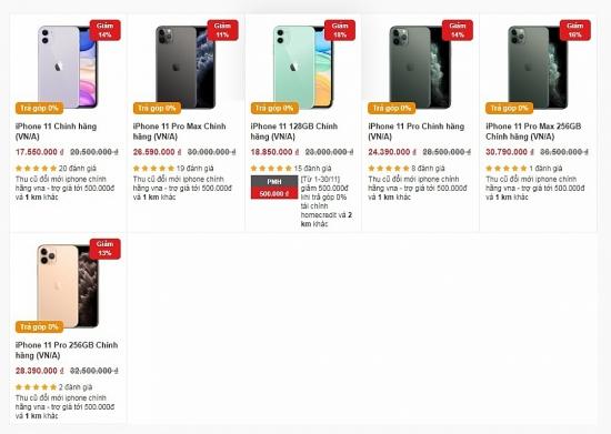 iPhone 11 giảm giá cực sâu dọn đường cho iPhone 12 cận kề ngày ra mắt