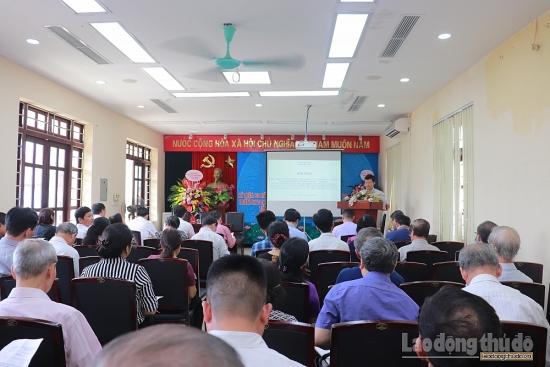 Quận Đống Đa tổ chức hội nghị triển khai lấy ý kiến đối với đồ án thiết kế đô thị tuyến đường Huỳnh Thúc Kháng - Voi Phục