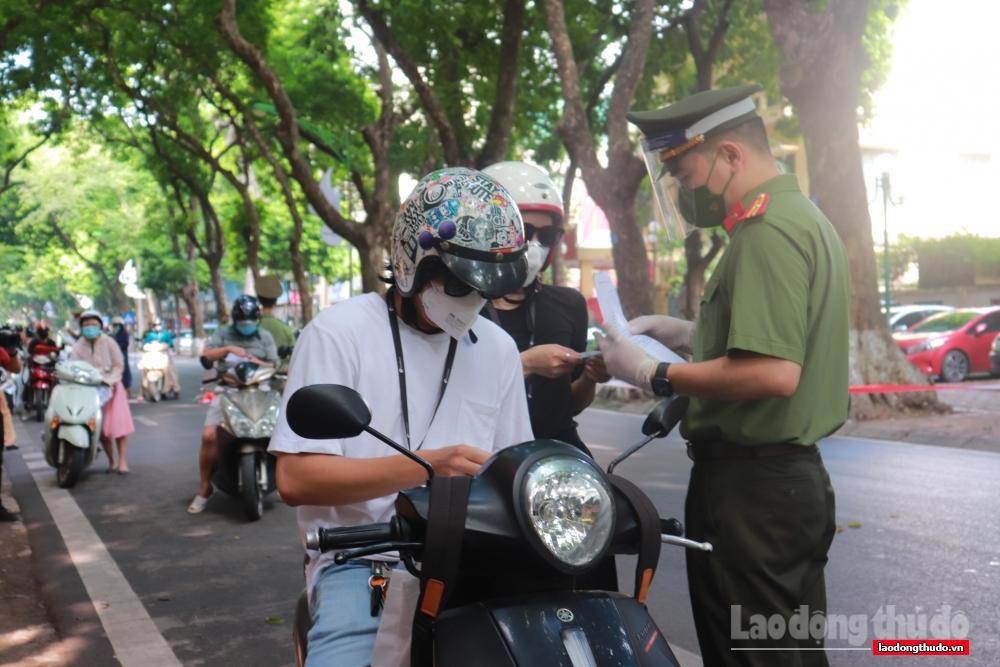 Hà Nội xử phạt 79 trường hợp vi phạm quy định phòng, chống dịch