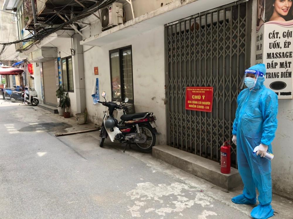 Đảm bảo an toàn tài sản cho người dân đi cách ly để phòng, chống dịch tại phường Thanh Xuân Trung