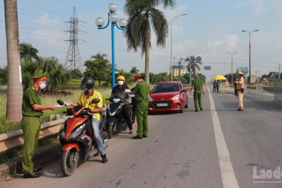 """Danh sách 39 chốt kiểm soát ra - vào """"vùng đỏ"""" tại Hà Nội"""